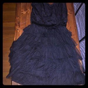 delia's size XS strapless dress